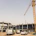 انهيار لأحد مباني جامعة القصيم التي قيد الإنشاء - صور واسباب