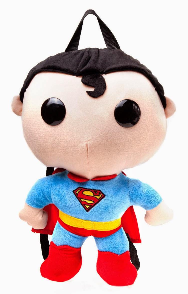 Mochila Peluche Superman