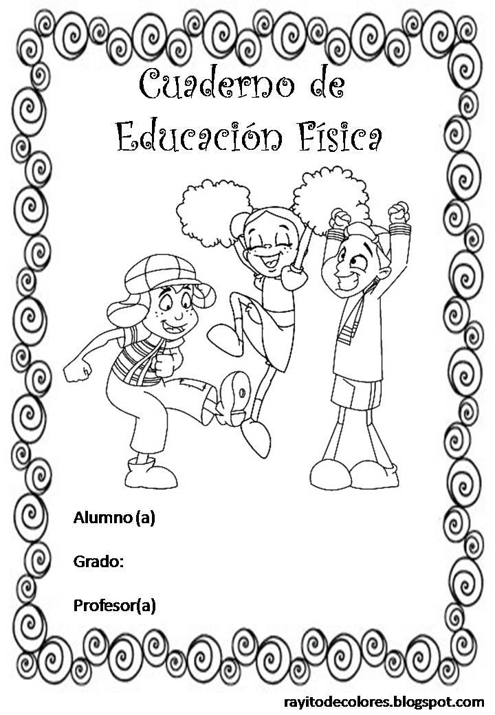dibujos de caratulas para cuadernos escolares para trabajos de colegio