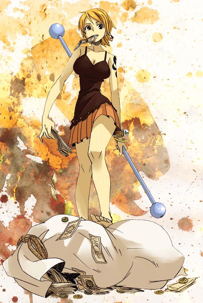Anime iris nami one piece imagenes - Image one piece nami ...