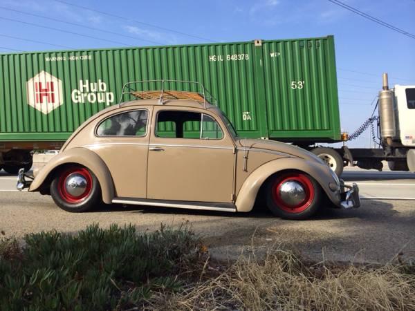 Slammed 1957 Oval Bug