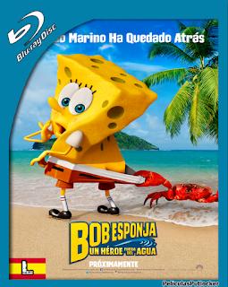 Bob Esponja: Un Heroe Fuera Del Agua (2015) BRRip 720p Latino