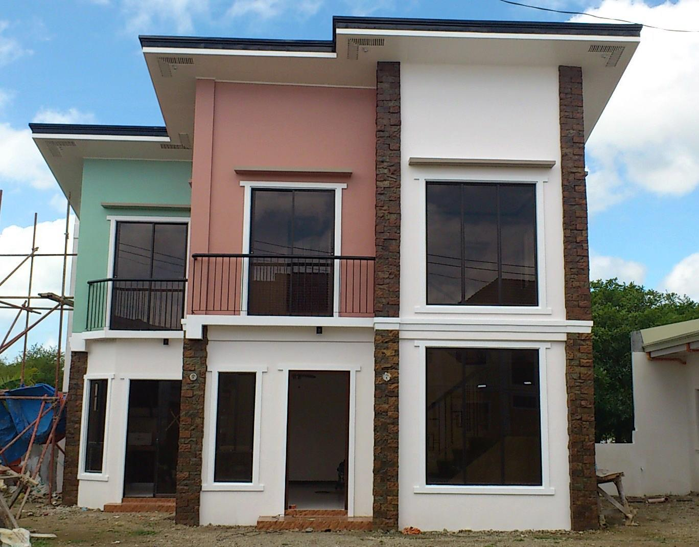 custom home designs of royal residence iloilo by pansol realty and development corporation erecre group realty design and construction - House Models Pictures
