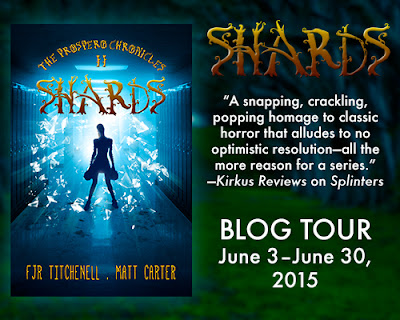 Blog Tour: Shards by F.J.R. Titchenell & Matt Carter