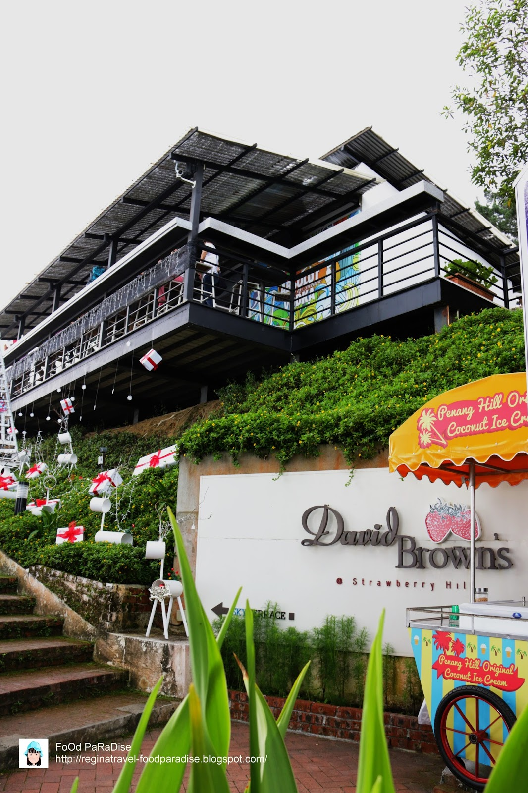 Food paradise david brown 39 s restaurant tea terrace for 7 terrace penang