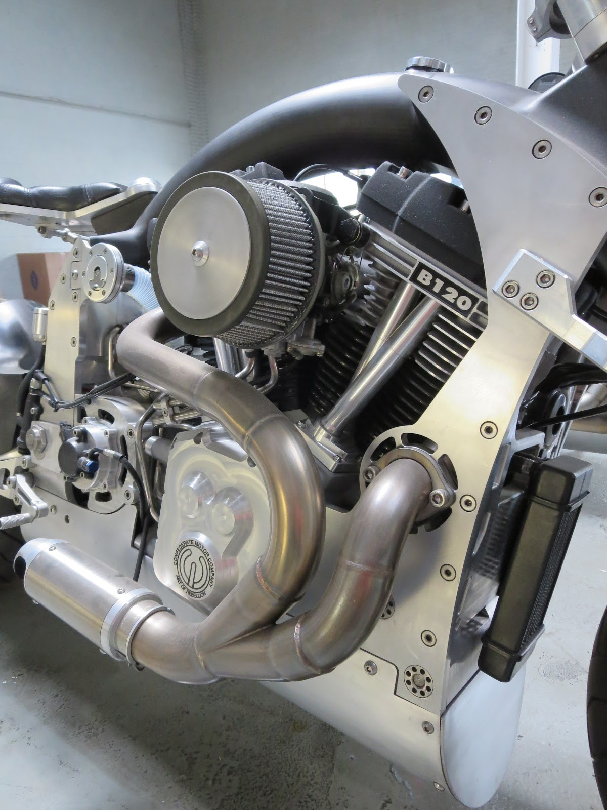 Confederate Wraith B120 Engine