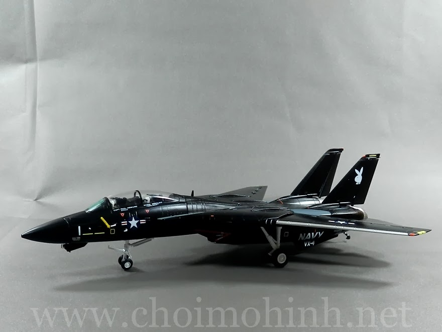 F-14A Tomcat VX-4 Evaluators Vandy 1:72 Witty Wings side