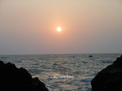 Spectacular Sunset at the beach, Kannur - Kerala