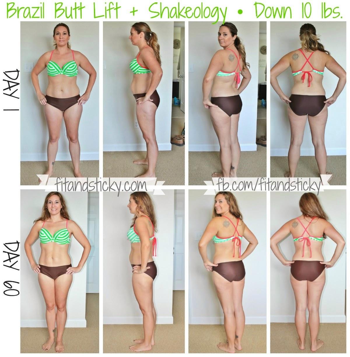 brazilian butt lift workout results
