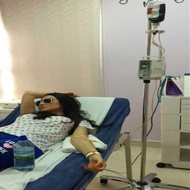 بالصور.. نقل ميساء مغربي للمستشفى بعد تعرضها لوعكة صحية