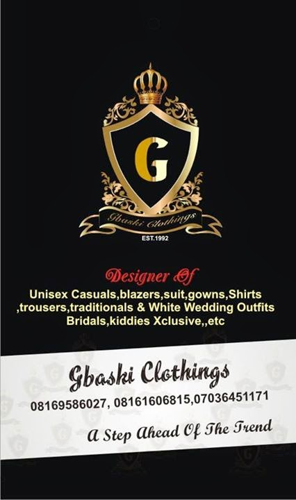 Gbaski Clothings