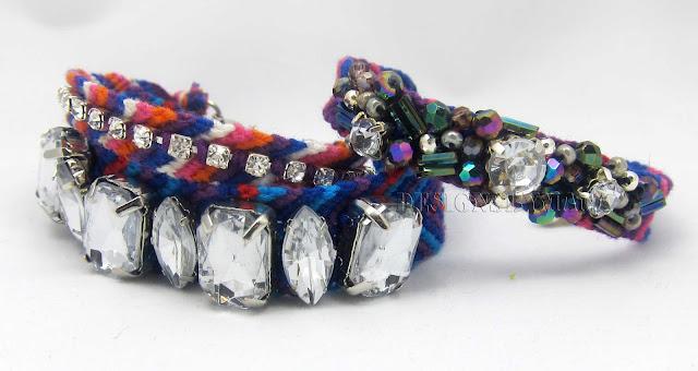 stacked beaded friendship bracelet
