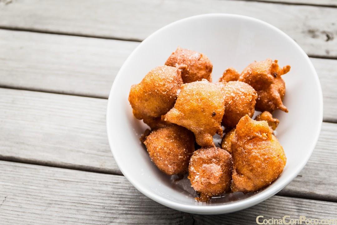 Buñuelos de calabaza - Receta paso a paso sin gluten