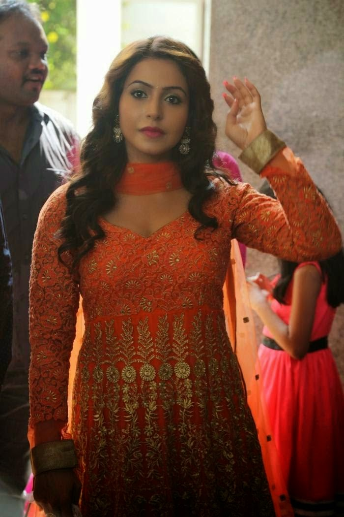 Actress Nandini at Grahanam Movie Opening Stills