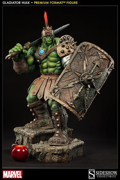Estátua Incrível Hulk Gladiador