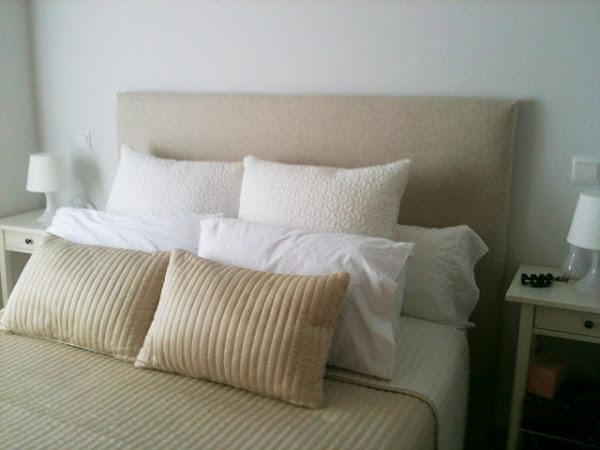 Cabeceros cama tela decorar tu casa es - Forrar cabecero de cama ...