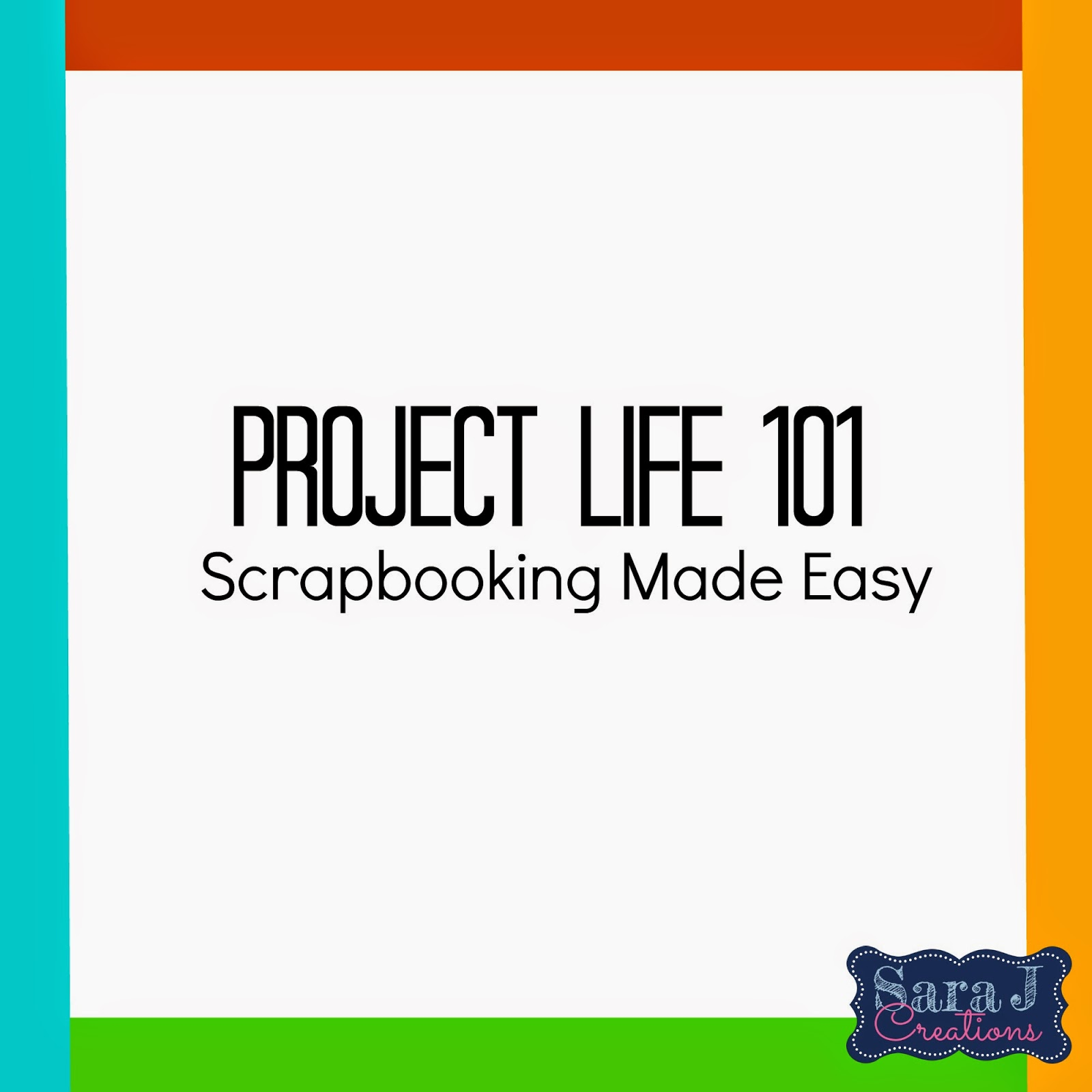 How to scrapbook with project life - Project Life Adding Videos To Your Scrapbook