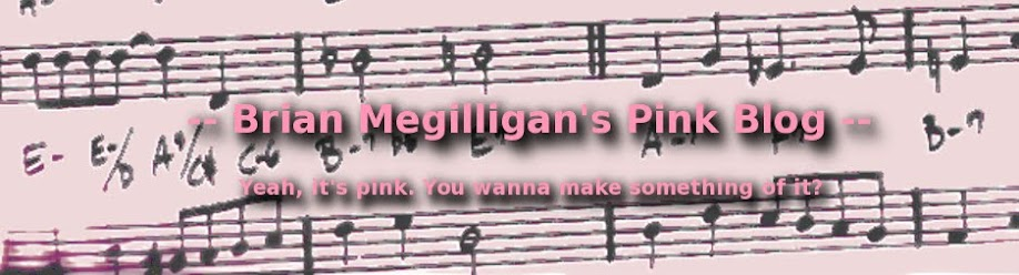 -- Brian Megilligan's Pink Blog --