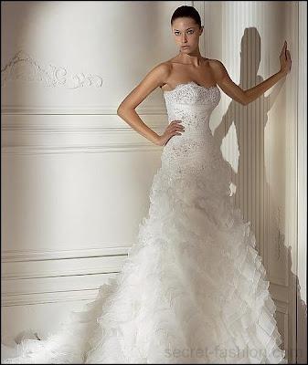 къси сватбени рокли