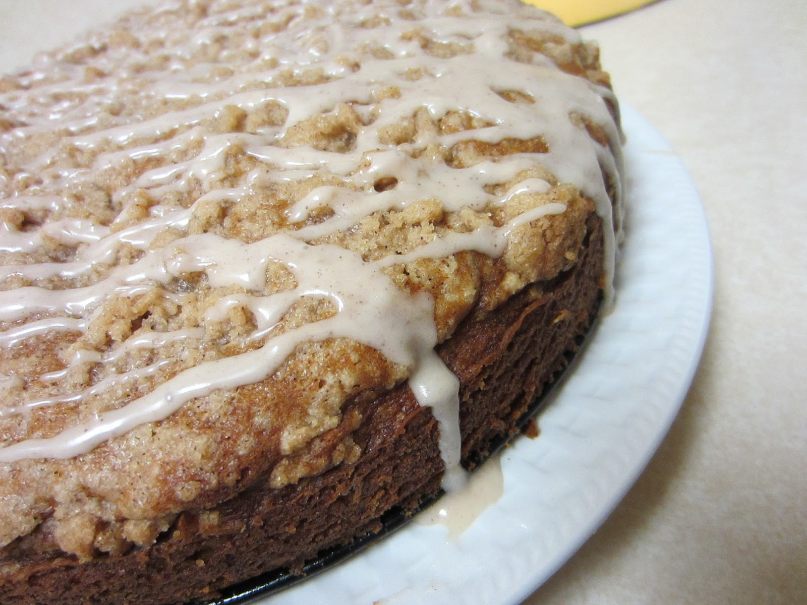 Sugar-Coated Delights: Pumpkin Cinnamon Streusel Coffee Cake