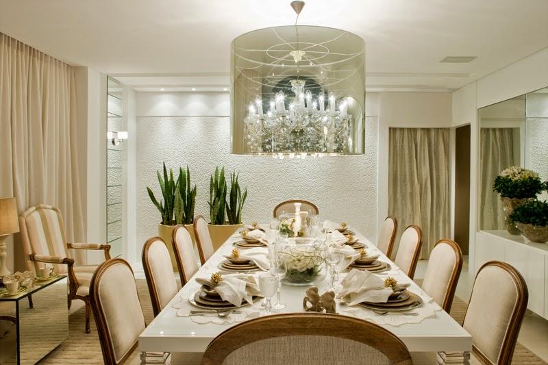 Salas de jantar brancas e off whites – veja modelos lindos e dicas