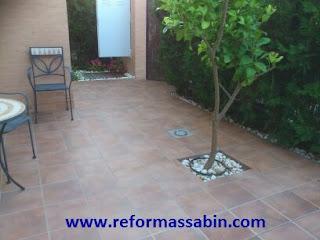 Reformas sabin en sevilla soleria 002 exterior porcelanico espartina sevilla - Gres porcelanico exterior ...