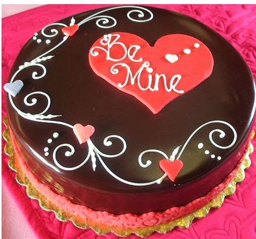 Tạo hình socola - chocolate hình trái tim 1
