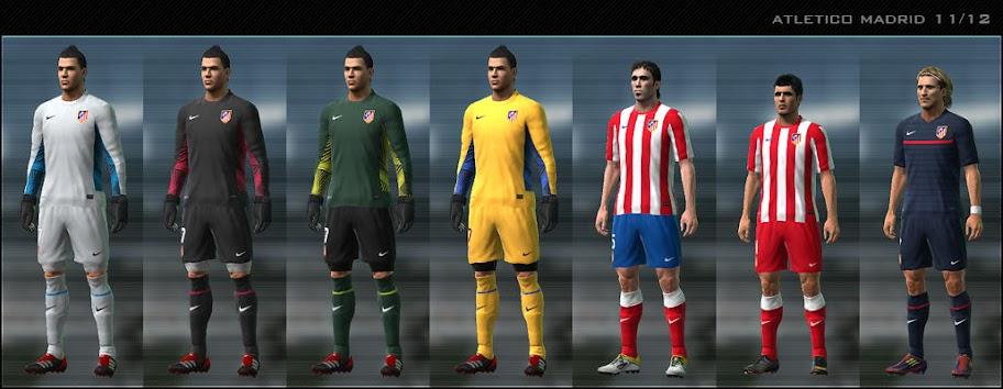 Atletico 11/12 Kit Set by Dark Nero