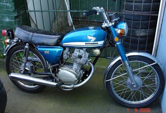 1972 Honda 100 Motorcycle