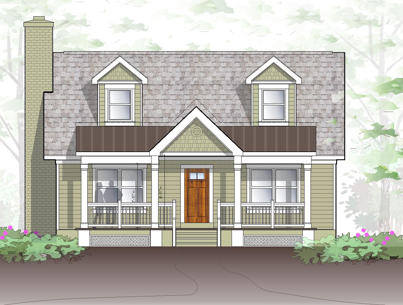 Conjuring home possible exteriors for House roof colors