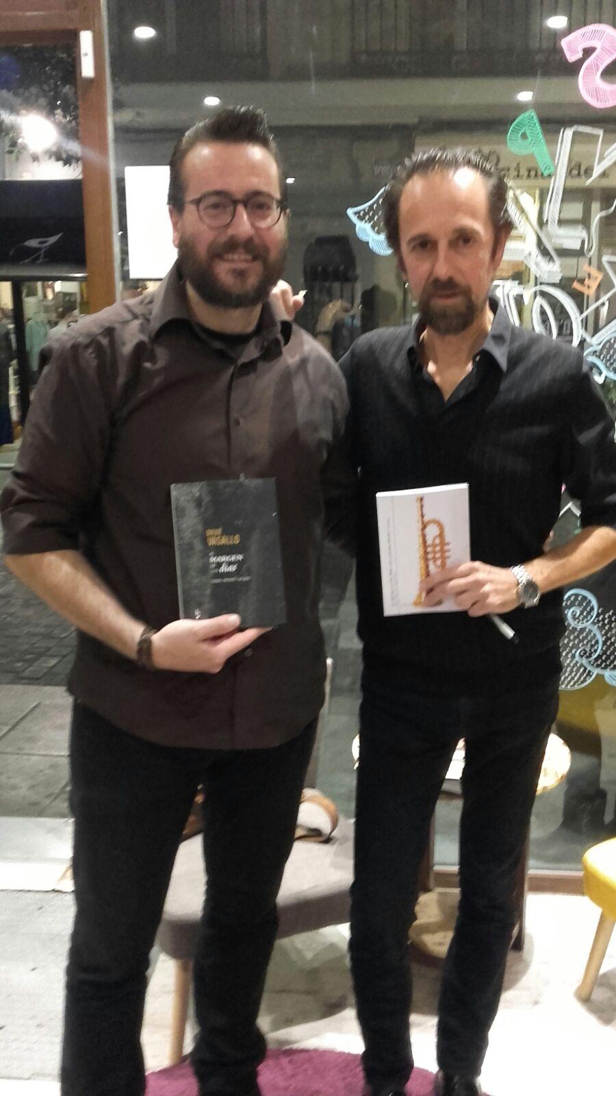 Pedro Gascón y Diego Vasallo
