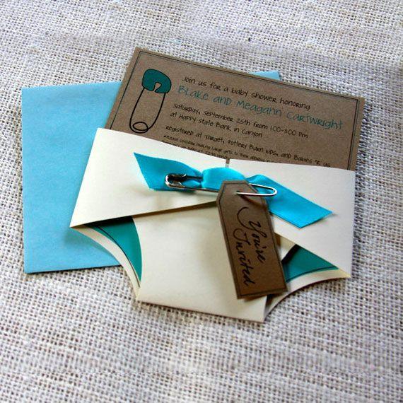 Extremamente Convites de chá de bebê. Ideias lindas e criativas de convites  HV46