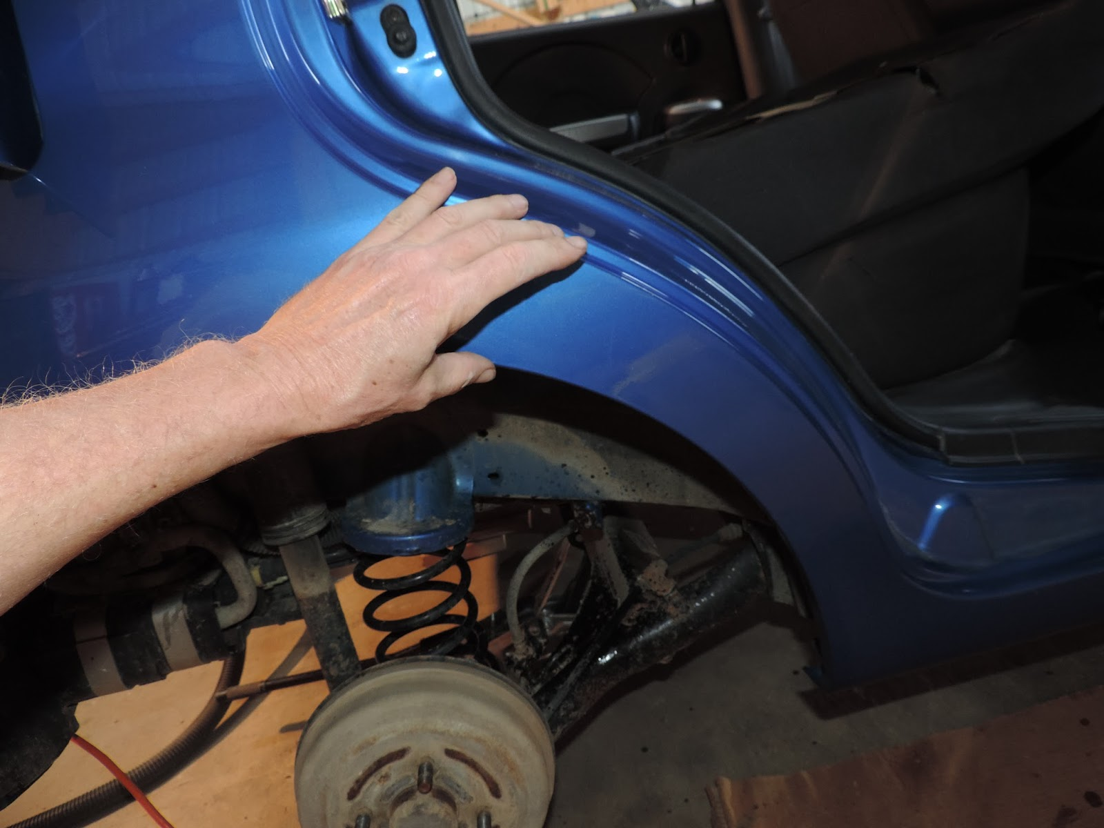 The Front Section Of The Rear Quarter Panel Is Called The