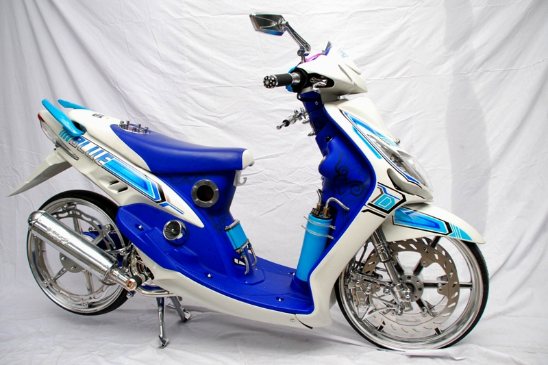 modifikasi warna mio sporty terbaru