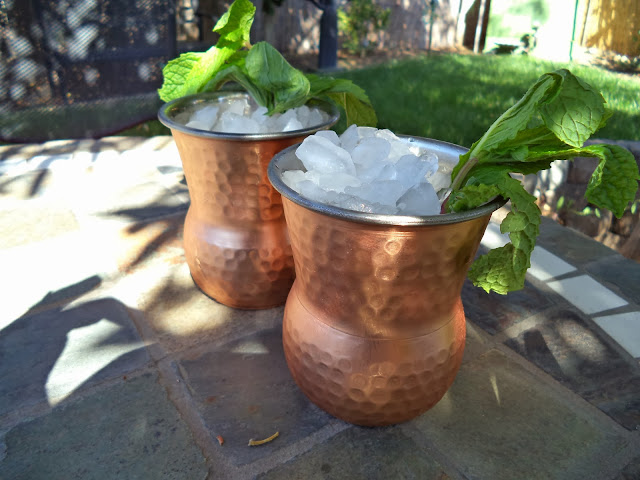 perfect cup for a Mint Julep - tipsyterrier.blogspot.com