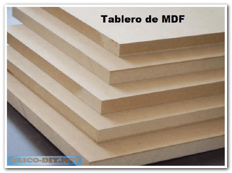 Tablero de mdf fabricaci n y usos web del bricolaje for Fabricacion de muebles mdf
