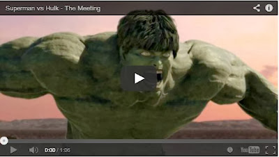 MUST-WATCH: SUPERMAN VS THE HULK in Stunning Homemade CGI Movie