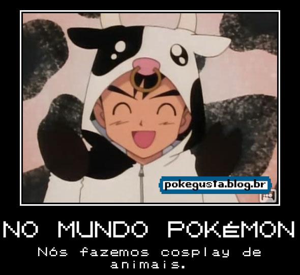 Ash cosplay de vaca