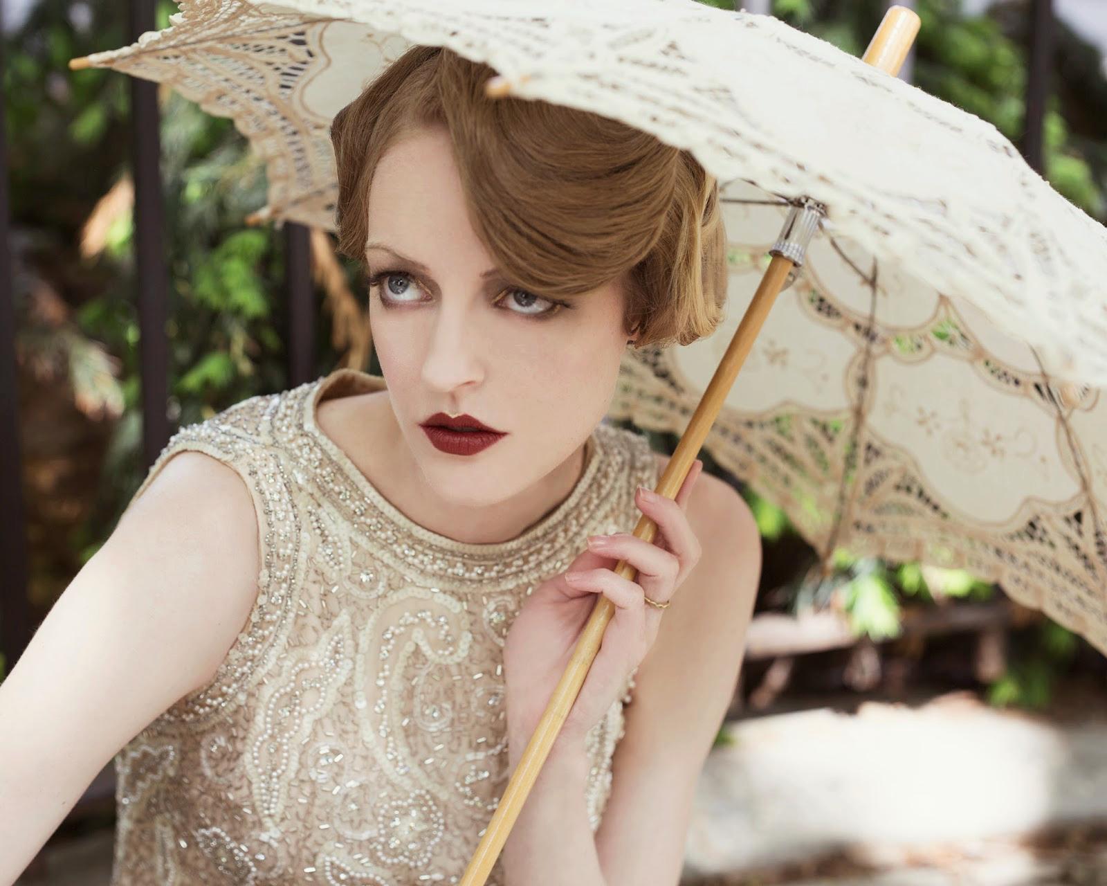 20s Eye Makeup Tutorial 1920s hair and makeup tutorial