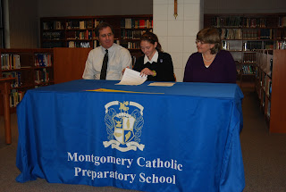 Montgomery Catholic Runner, Katherine Terino Commits to the University of Montevallo 1