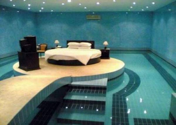 Swimming Pool Bedroom