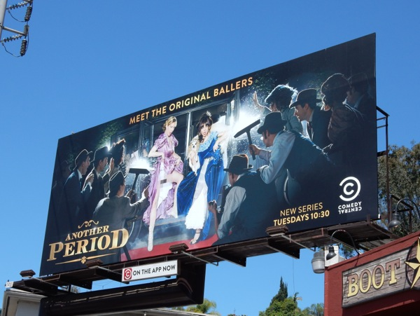 Another Period series premiere billboard