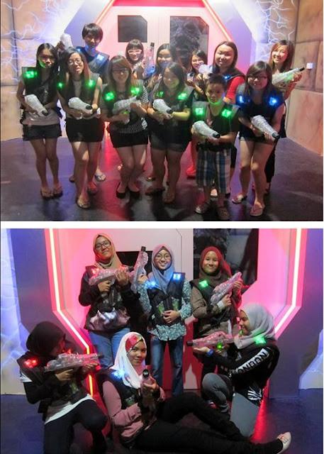 laser tage johor female team