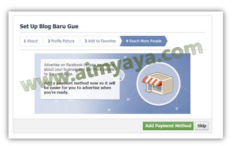 Gambar: Tawaran Promosi menggunakan Iklan Facebook