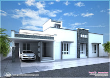 Contemporary Single Floor House Designs