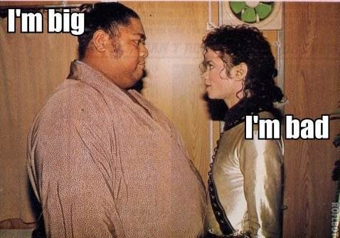Michael Jackson Bad Meme