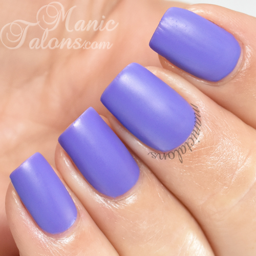 BMC Spellbound Matte Gel Polish Swatch