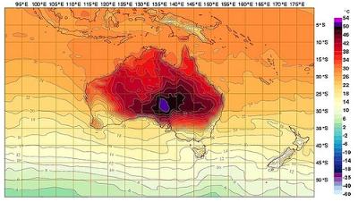 Calor en Australia