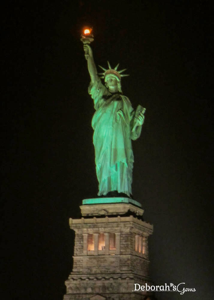 Lady Liberty - photo by Deborah Frings - Deborah's Gems