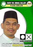 Calon Harapan Rakyat: Ismail Bin Salleh (PAS)
